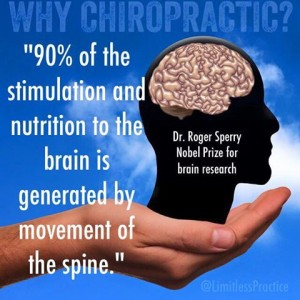 Chiropractic is good for your brain!